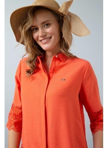 U.S. Polo Assn. Gömlek Somon